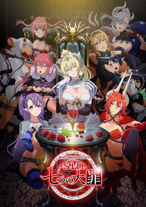 Seven Mortal Sins Uncensored 480p 80mb 720p 140mb Hmb Hevc H265 Mkv Sinnanatsunotaizai Sevenmortalsins Soulreaperzone Anime