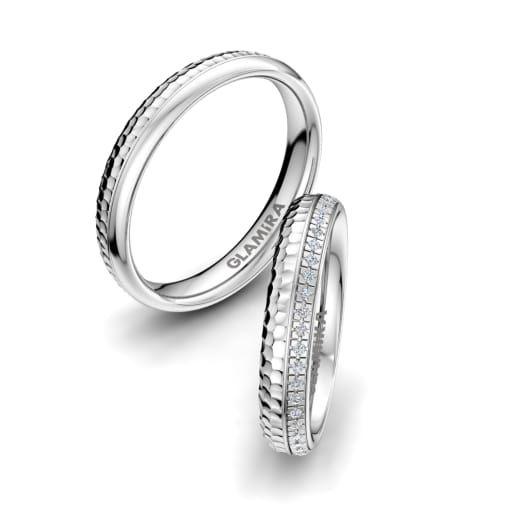 Ring On Left Ring Finger: The Wedding Rings Goes On The Left Ring Finger Because It