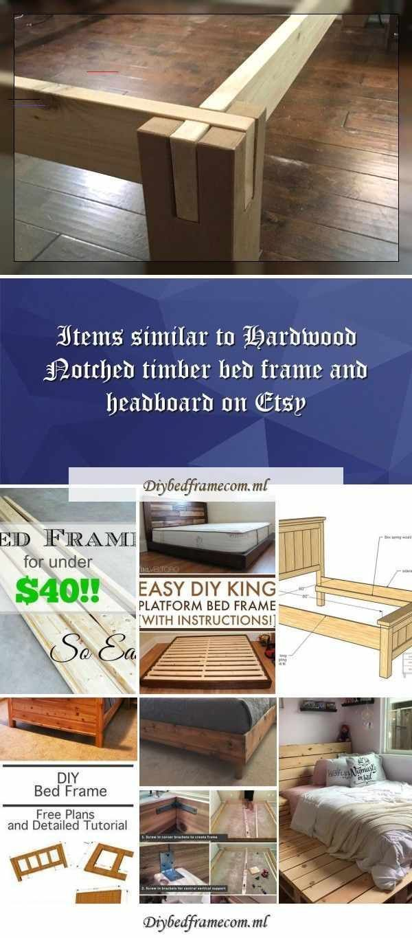 Easy Bed Frame for Under $40!Bed Frame Under $40 Easy cheap DIY www.thestonybroo... -  Easy Bed Frame for Under $40!Bed Frame Under $40 Easy cheap DIY www.thestonybrook…Easy DIY Platfo - #40Bed #bed #cheap #DIY #Easy #frame #kingbeddiy #thestonybroo #under #woodenbeddiy #wwwthestonybroo