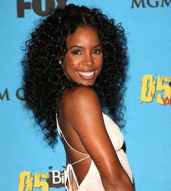 Super 1000 Images About Curly Weave On Pinterest Kelly Rowland Black Short Hairstyles Gunalazisus