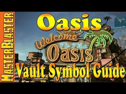 Borderlands 2 Oasis Vault Symbol Guide Borderlands 2 Pinterest
