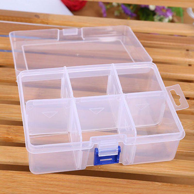 Adjustable Finishing Large Plastic Storage Box Compartment Firm Desktop Accessories Parts Container Plastic Box Storage Large Plastic Storage Boxes Storage Box
