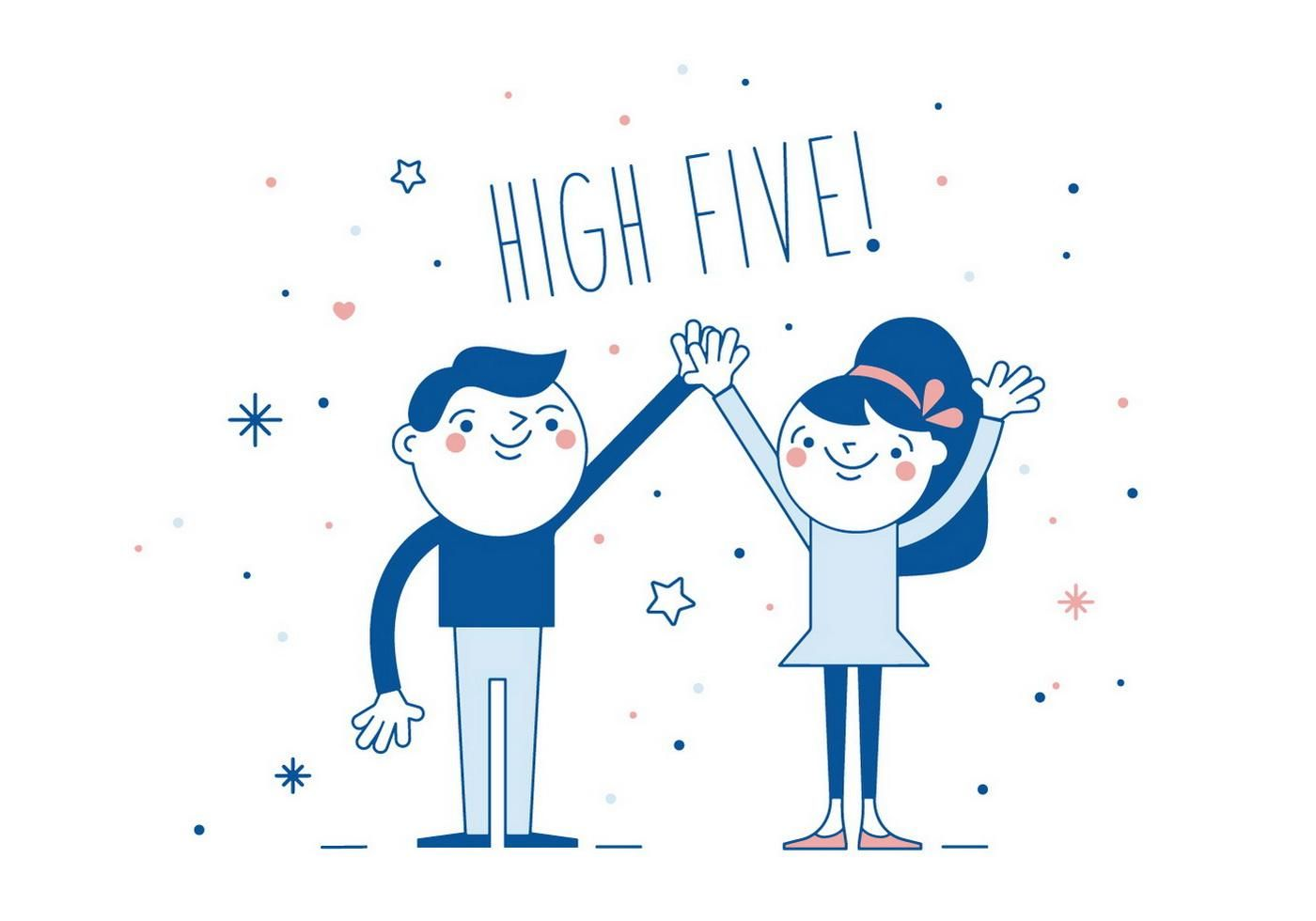 17+ High five free clipart information