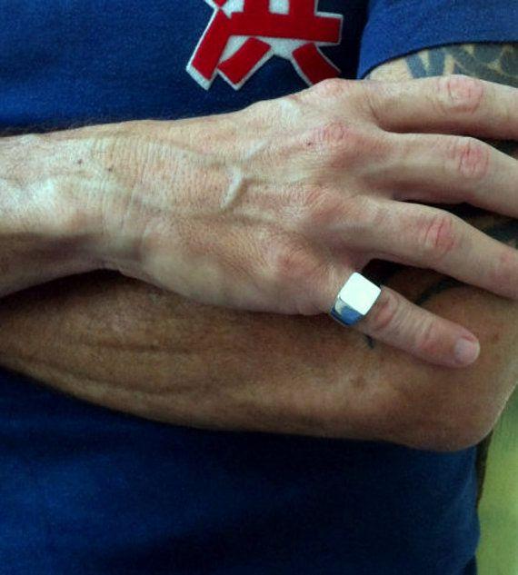 5a8acd320db82 Men ring on sale Signet ring Mens signet ring Male by shmukies   Men ...