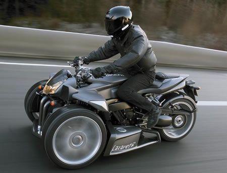Triazuma By Ludovic Lazareth 3 Wheel Motorcycle