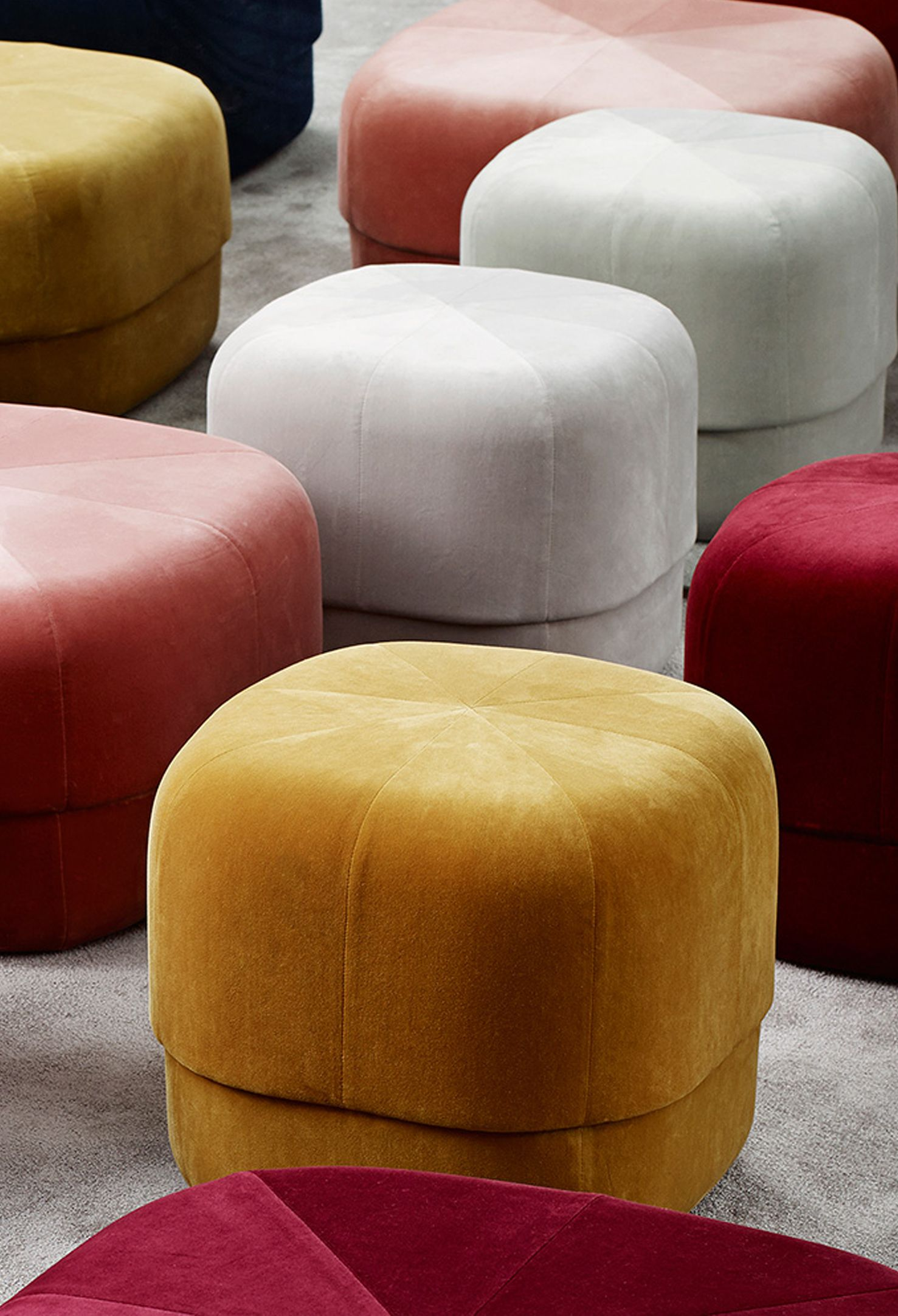 Normann Copenhagen Couchtisch Circus Pouf Normann Copenhagen Seatings Furniture Upholstery