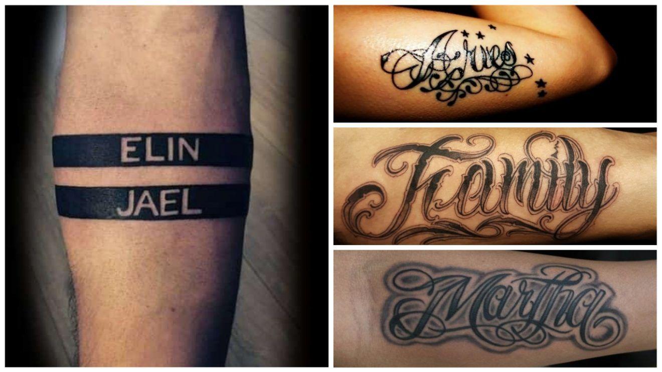 Tatuajes De Nombres Para Hombres 30 Ideas Originales Significado Tatuajes De Nombres Tatuajes Para Hombres Tatuajes