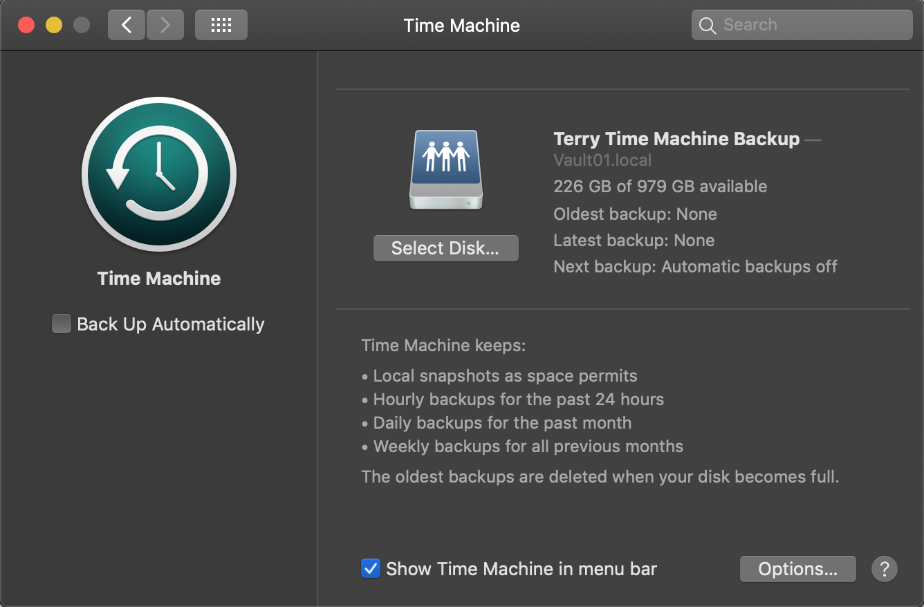 Learn how to use a Time Machine to back up your mac to a