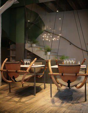 sur un arbre perche on mange sur des balan oires et l on. Black Bedroom Furniture Sets. Home Design Ideas