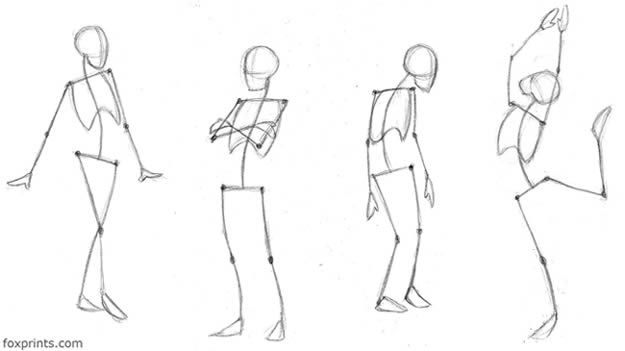 Ainessa Character Drawing Tutorial Drawing Tutorial Skeleton Drawings Fashion Drawing Tutorial