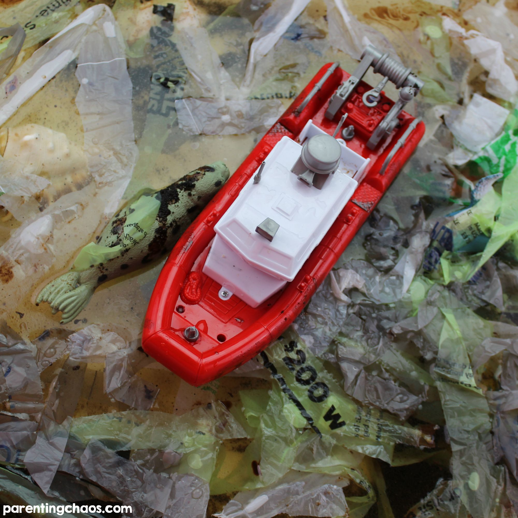 Ocean Pollution Clean Up Science Activity