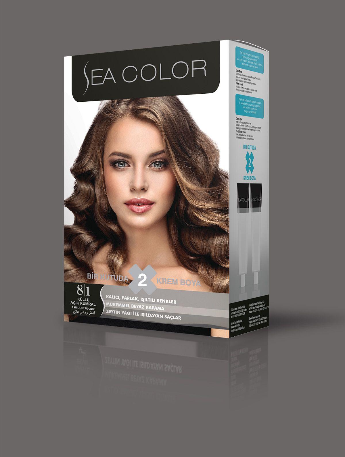 Sea Color Sac Boyasi 8 1 Kullu Acik Kumral 2020 Sac Boyasi