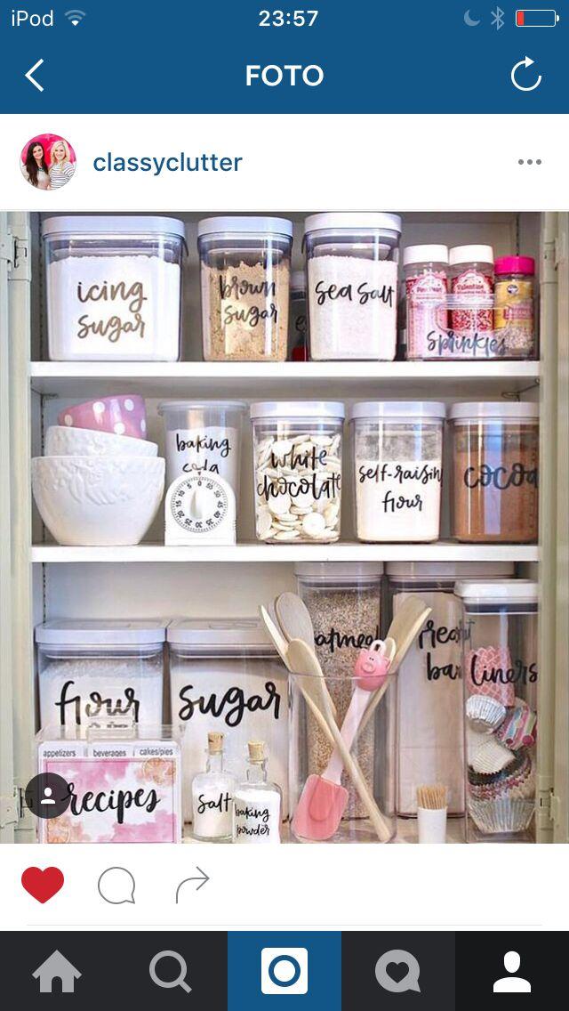 Küchenschränke Organisieren pin eleonora daini auf get organized küche