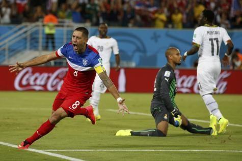 Les Etats-Unis s'offrent de justesse le Ghana (2-1) - lesoir.be