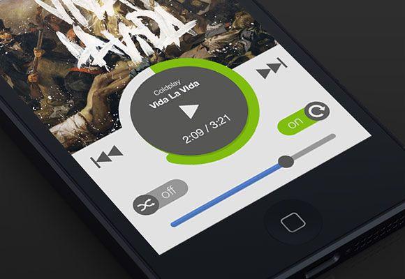 New Spotify iOS app UI - PSD   Graphic Freebies (PSD, AI