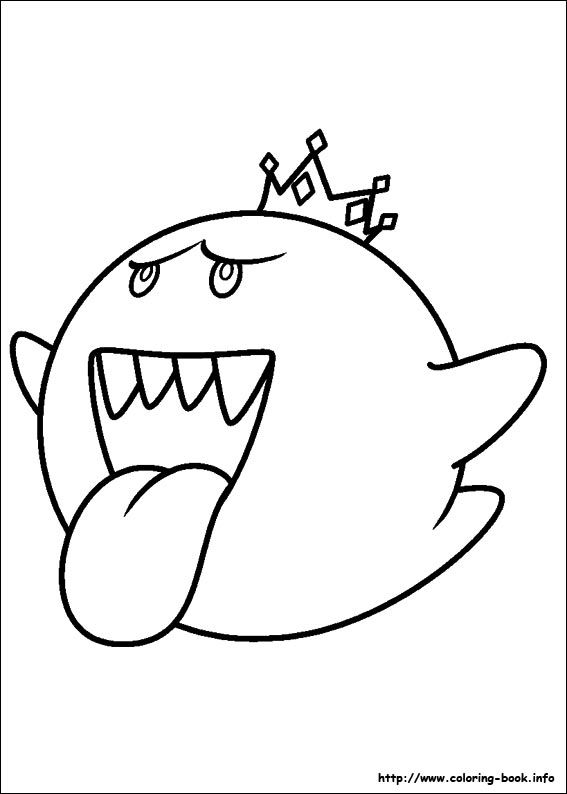 Super Mario Bros Coloring Picture Mario Party Mario Coloring