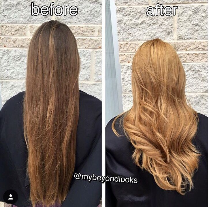 Before And After Of My Hair Done At My Beyond Looks State College