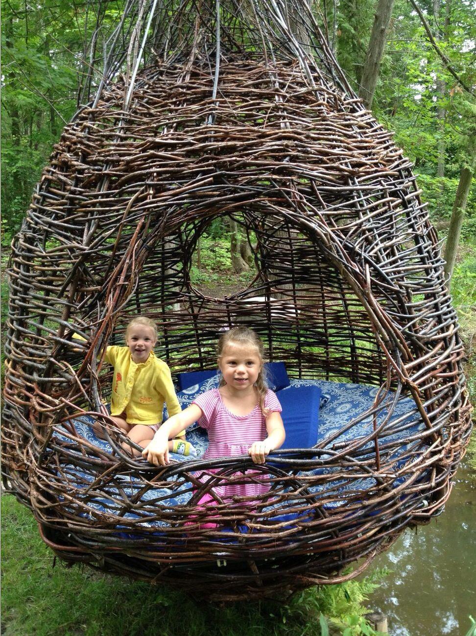 Little Ones In The Nest Play Garden Halloween Garden