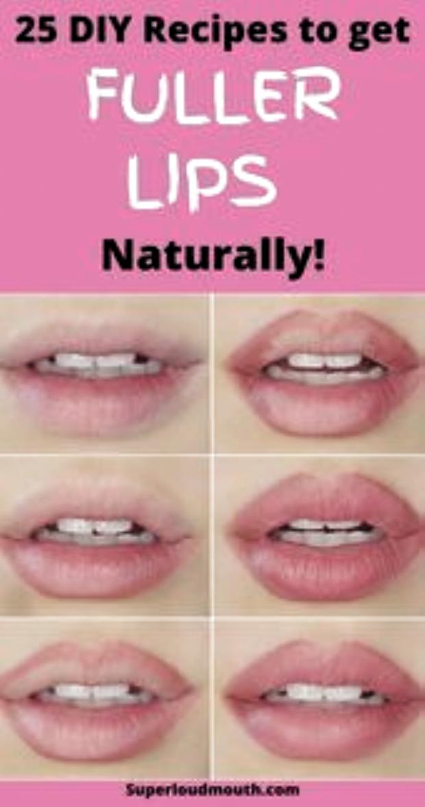 25 Diy recipes to get Fuller lips naturally DIY Fuller