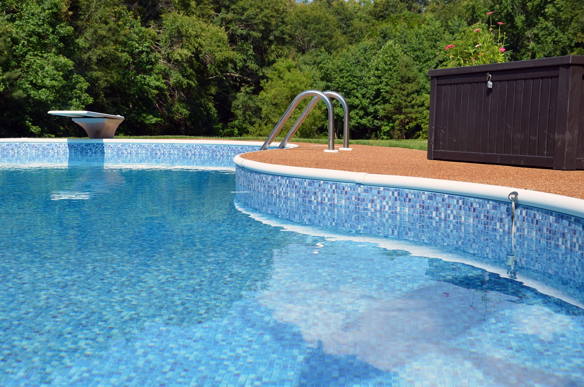 Renovated pools memphis pool outdoor landscape ideas for Garden pool mats