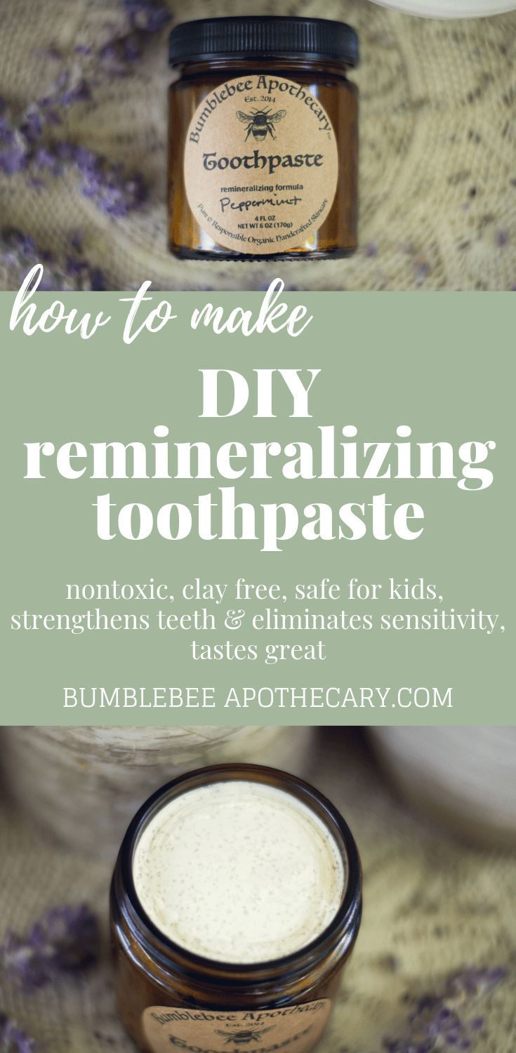 Diy remineralizing toothpaste recipe remineralizing
