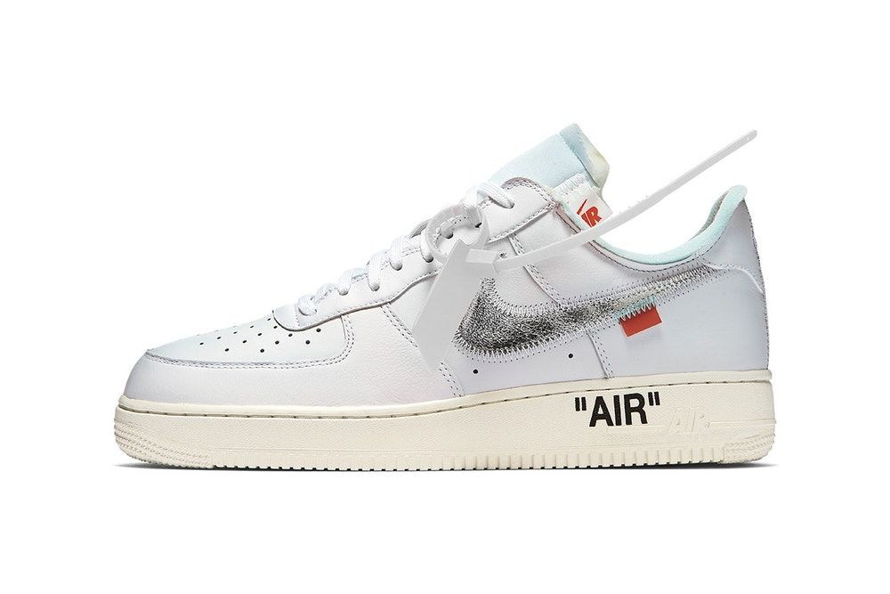 Here's Your First Look at the Virgil Abloh x Nike Air Force
