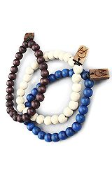 GoodWood The GW Bracelet 3-Pack in Blue, Natural, & Dark Wood
