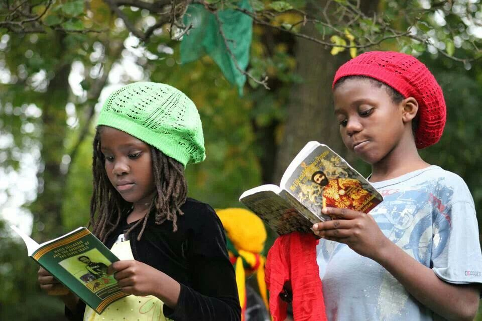 Rasta Youth learning the truth. | Raggamuffin