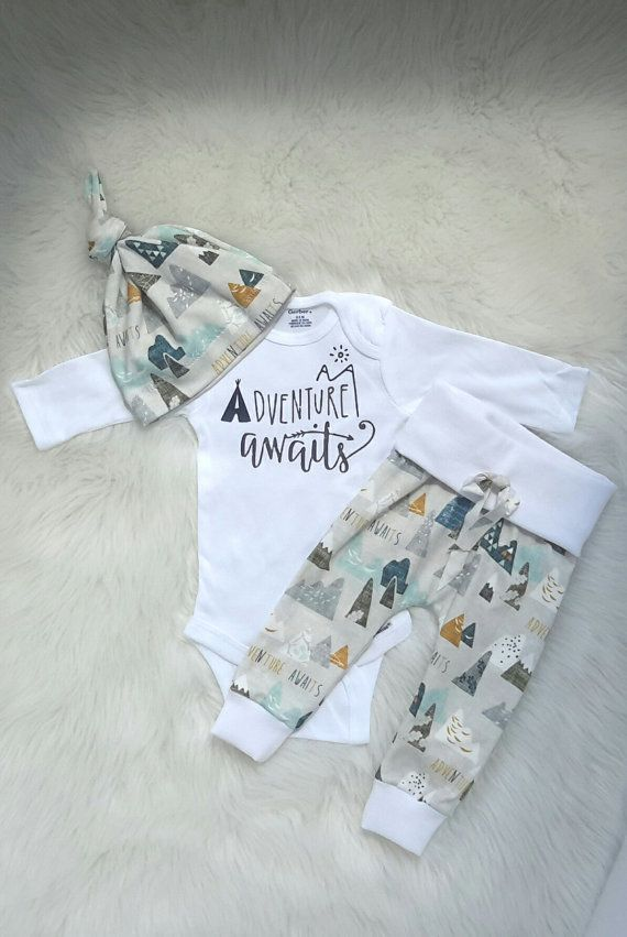 d62088e3b54c Baby boy coming home outfit adventure awaits outfit baby boy take ...