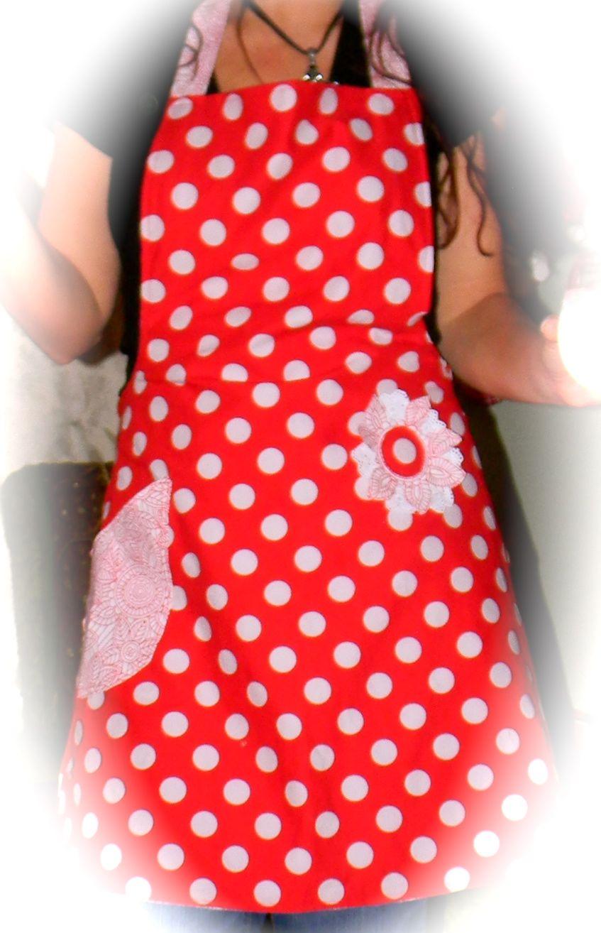 Homemade aprons:))