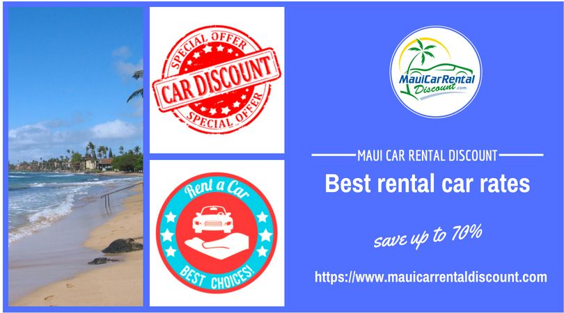 Book a car through Maui Car Rental and save up to 70 on