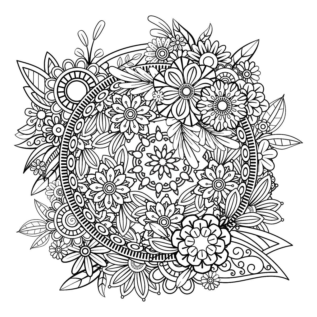 Mandala Coloring Pages Free Printable Coloring Pages Of Mandalas For Adults Kids Printables 30seconds Mom In 2021 Mandala Coloring Pages Mandala Coloring Mandala Coloring Books