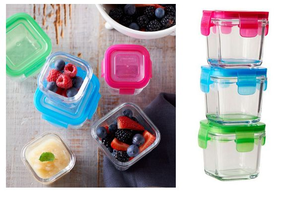 Littlelock glass baby food containers Review by Sunnycoast Kids