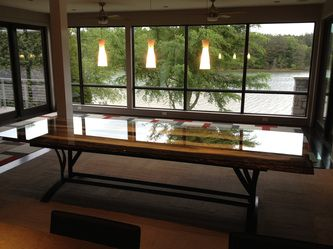 On The River   Steel Root Furniture, Modern Wood And Metal Furniture, Slab  Furniture