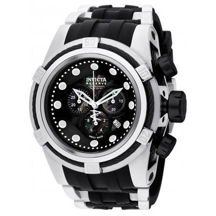 247970254 Invicta Invicta Men's 0827 Bolt Quartz Chronograph Black Dial Watch ...