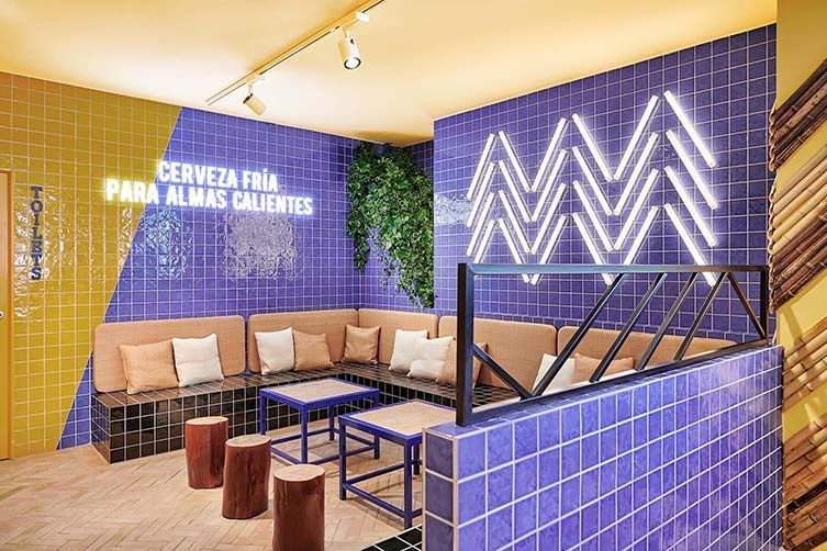 Hashtag Winning Ibizan Sports Bar TorÖ Gets Its Tactics Spot On As Valencian Designers Masqueio Break Conventions