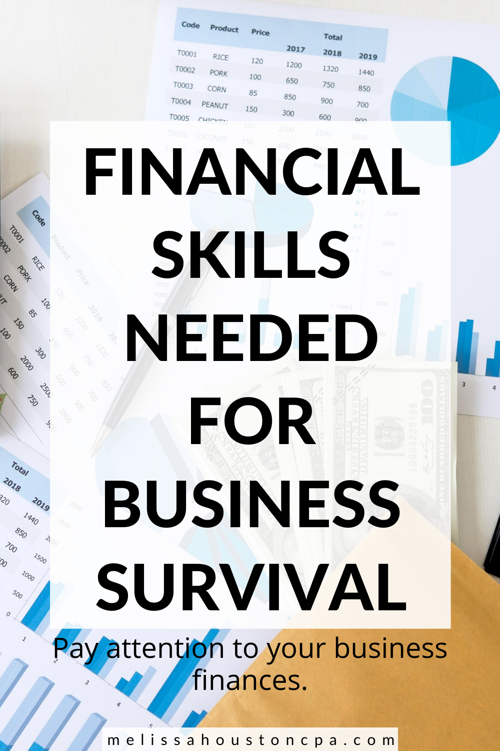 Financial Skills Needed For Business Survival Business Finance Management Financial Small Business Finance