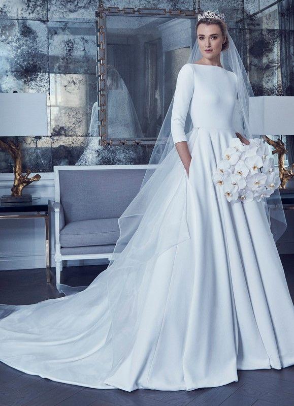 Romona Keveza 2019 Bridal #modest #tznius   Modest (tznius) Wedding ...