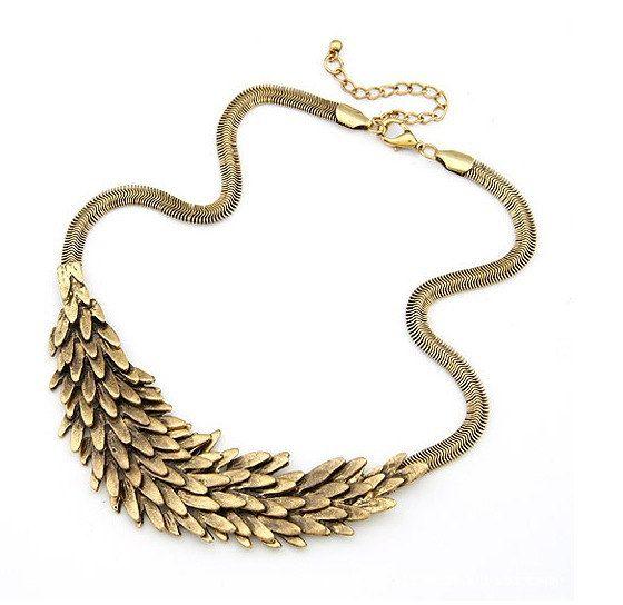 SALES-Gold  necklace/Bubble Necklace/Bubble Bib Necklace/ Statement  Necklace/Bubble Necklace. $9.99, via Etsy.
