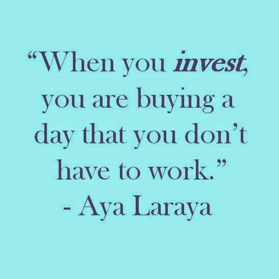 10 Motivational Quotes On Wealth Money: Invest, Invest, Invest To Retire Early. Brought To You By