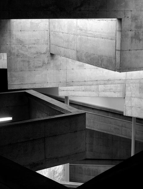 Berkeley Art Museum (BAM) and Pacific Film Archive. Completed 1970. Designed by Mario Ciampi.