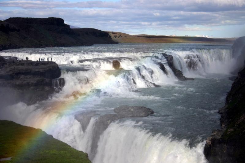 Gulfoss waterfalls, Iceland