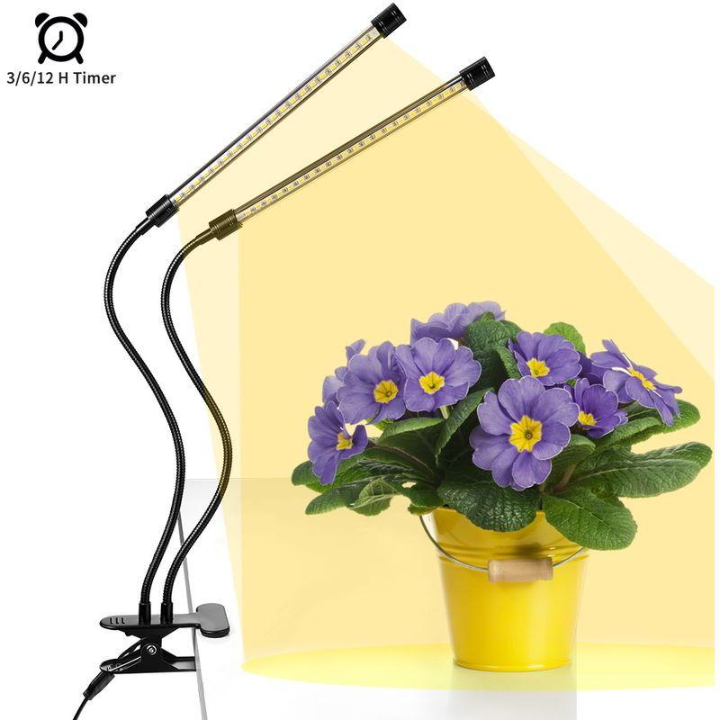 Anten Lampe De Croissance Pour Plante 20w Lampe Horticole A 360