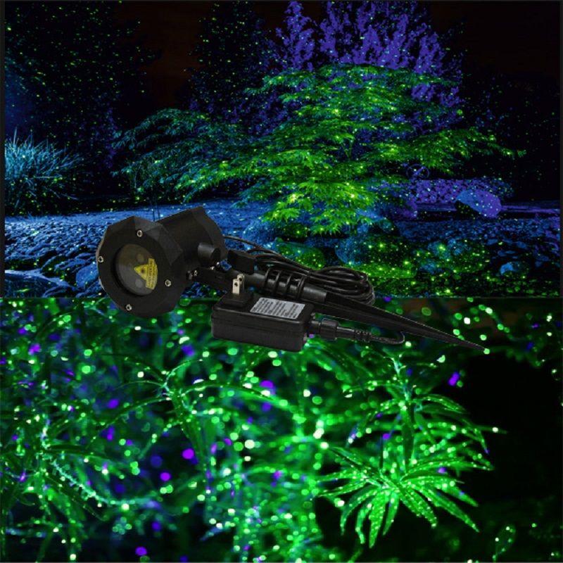 Outdoor Waterproof Yard Light Landscape Tree Laser Show Twinkling Star Night Light Showers Effect Laser Star Night Light Landscape Lighting Design Yard Lights