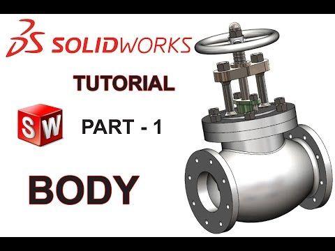 Solidworks Tutorial Sketch Gate Valve In Solidworks Solidworks Youtube Solidworks Tutorial Solidworks Gate Valve