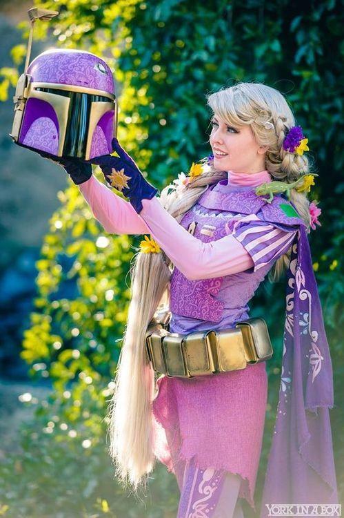 Cosplay ∼ Les princesses Disney en Mandaloriennes Star Wars