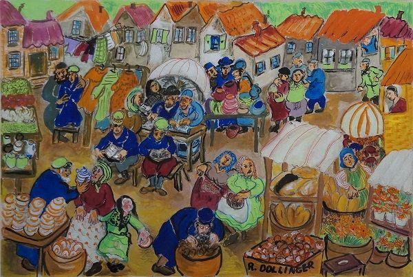 Renate  Dollinger - The Market
