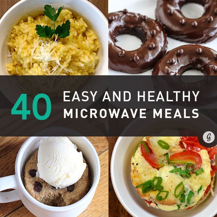 40 Delicious Things You Didn't Know You Could Make in a Microwave: