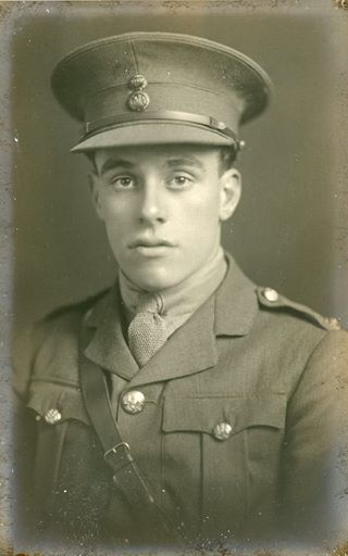 Second Lieutenant William George Griffiths. Died 09/03/1918 aged 21. Royal Welsh Fusiliers.