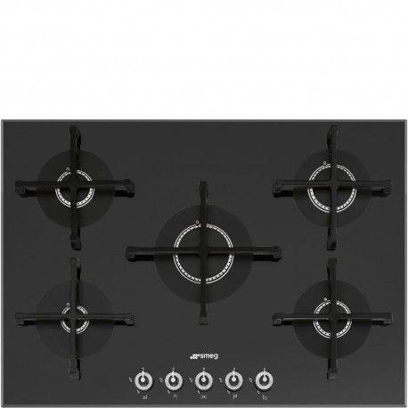 smeg pv175n-1 piano cottura incasso in cristallo nero | www ...